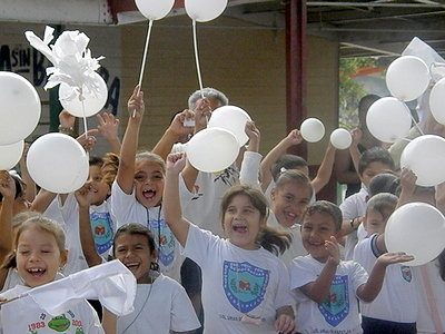 Mazatlan School Children at WHR Ceremony
