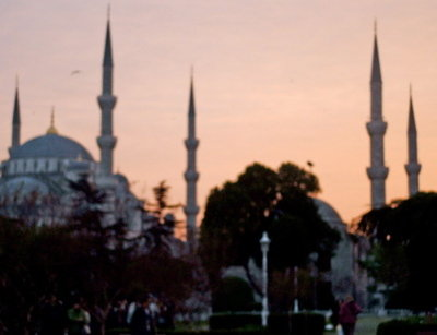 Blue Mosque at Sunset3