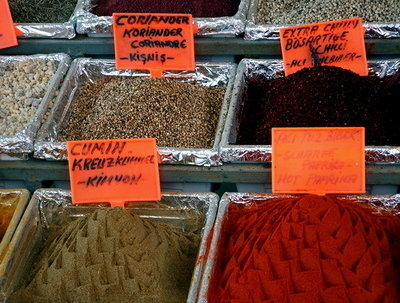 Spices for Sale in Antalya