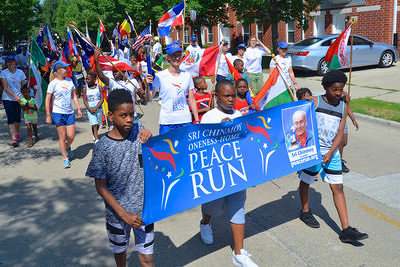 Peace Run 2018 in USA