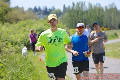 Sri Chinmoy 7 & 13 Hour Race (Magnuson Park, Seattle - May 20, 2017)