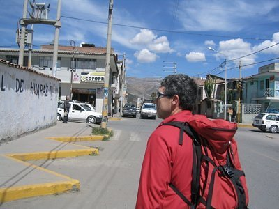 Huaraz, the city under the mountains