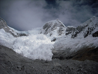 The most spectacular avalanche