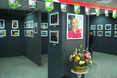 Sri Chinmoy's Life - A Photo Exhibition[color=#127EBC]