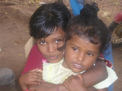 Two sisters in Trincomalee