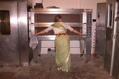 Their ovens are a little larger than those at The Lotus Heart!