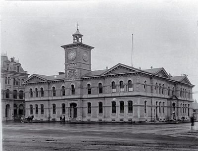 As the building looked in 1879