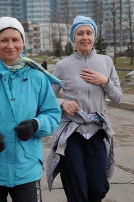 12-hour walk in Moscow, April 14th, 2012