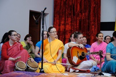 Bhajans concert in Moscow