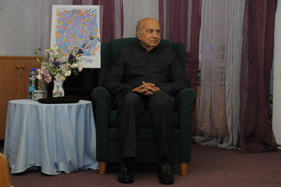 Talk of former ambassador of India Mr.Alan Nazareth in Moscow