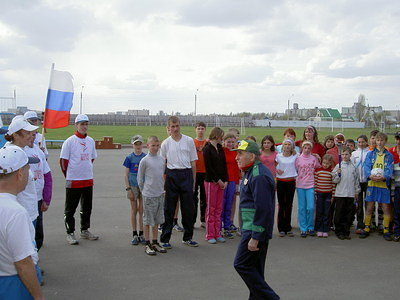Russian champion welcomes WHR team
