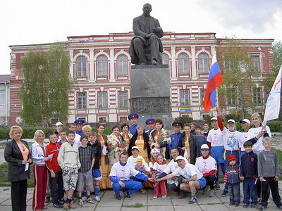 Meeting in Serafimovich on May 3