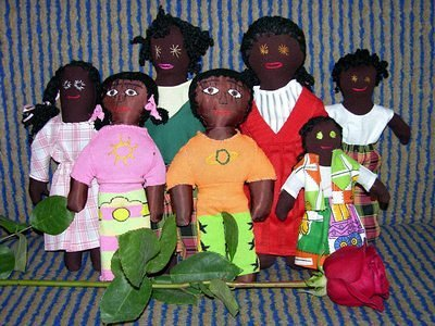 Dolls for African kids
