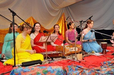 Concert of Bhajans group from Nikolaev in Moscow, February 3rd, 2010