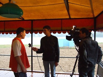 Interview to TV channel Sports