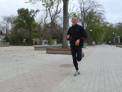 Dima from Lvov is the best runner