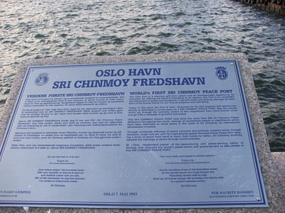 Oslo Haven - Sri Chinmoy Peace-Blossom