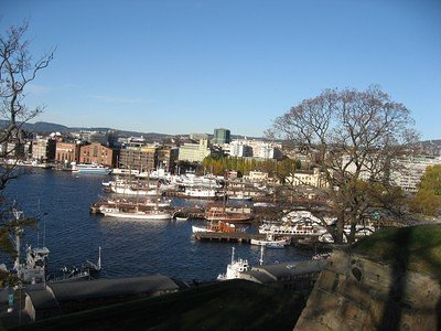 Oslo Haven - from the Akershus castle