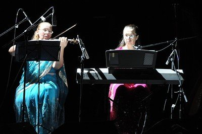 """Silence and Sound"" duet (Kiev, Ukraine)"