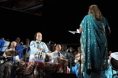 Kushali the orchestra conductor