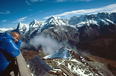 Sri Chinmoy on the Schilthorn