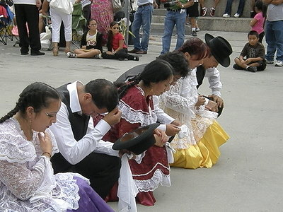 Bolivian Festival Performers