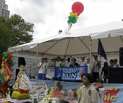 RI World Harmony Run at Bolivian-American Festival2