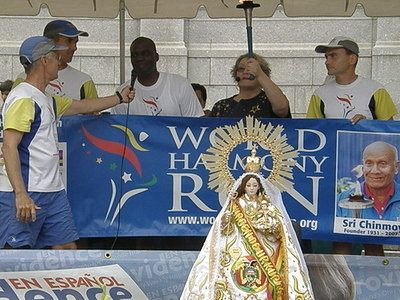 RI World Harmony Run at Bolivian-American Festival3