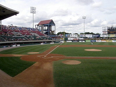 The Stadium for the Minor League Team of the Boston Red Sox
