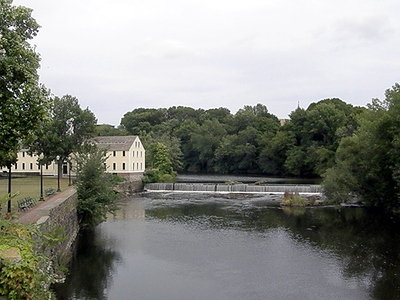 View of River from Bridge for Pawtucket Ceremony2