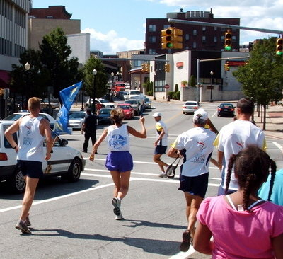 2006 Harmony Run - leaving Pawtucket