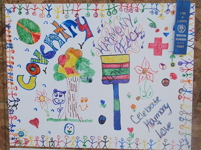 Posters made by Coventry Recreation Day Camp kids