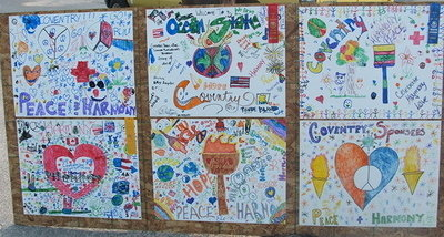 Coventry kids' posters - 2005 Harmony Run