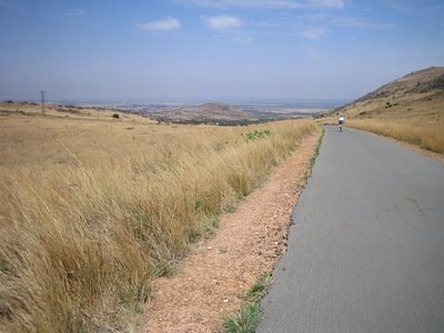 Cycling in and around Johannesburg